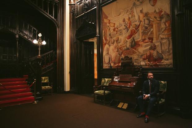 «Я работаю в старинном особняке посольства Италии»