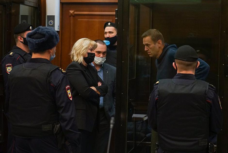 Москва после суда над Алексеем Навальным