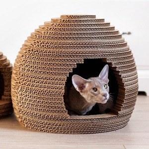 Как заработать на картонных домиках для кошек
