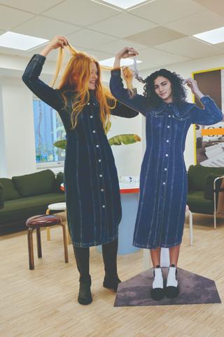 Levi's иGanni выпустили вторую совместную коллекцию одежды. Наэтот раз недля аренды, анапродажу