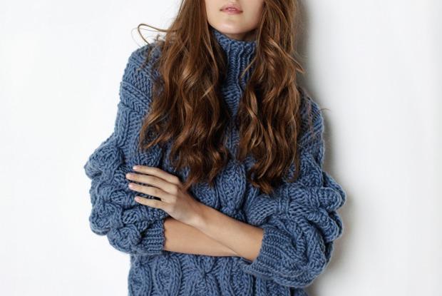 25 тёплых икрасивых женских свитеров
