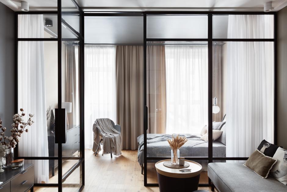 Двухкомнатная квартира вдухе «правильного минимализма»