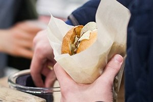 Первый Городской маркет еды сезона