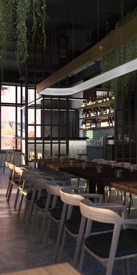 На Петровке открылся японский ресторан Subzero