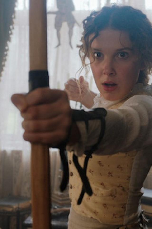 Трейлер фильма омладшей сестре Шерлока Холмса отNetflix. Вглавной роли — Милли Бобби Браун
