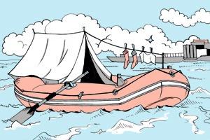 Есть вопрос: Можно ли использовать лодку в качестве городского транспорта?