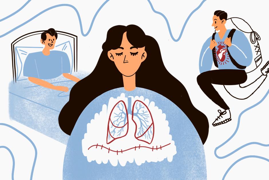 Люди с чужими органами