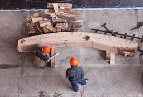Как вПетербурге строят корабль петровского времени