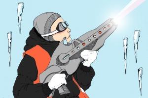 Есть вопрос: «Можно ли сбивать сосульки лазером?»