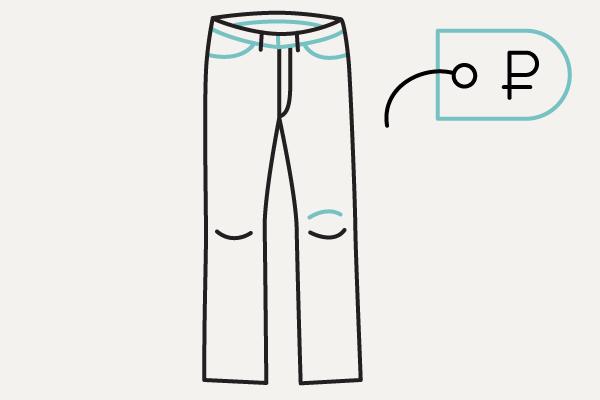 Самая дорогая исамая дешёвая пара джинсов вFancyCrew