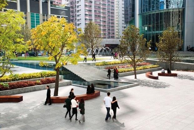 Как выглядят общественные пространства вГонконге, Бильбао идругих городах мира