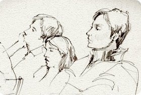 Клуб рисовальщиков: Музыканты