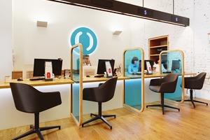 Отделение банка«Открытие», совмещённое с кофейней