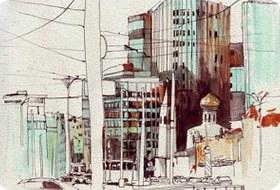 Клуб рисовальщиков: «Белая площадь»