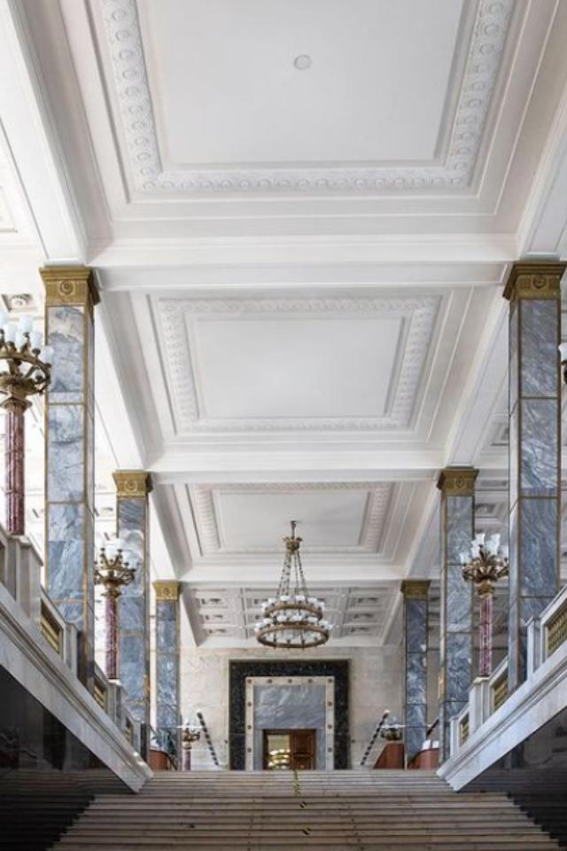Ленинская библиотека закроется нареставрацию