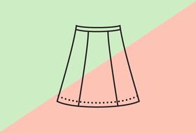 Самая дорогая и дешёвая юбка всобственной линии Trends Brands