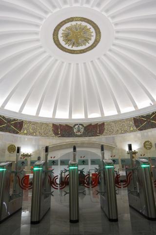 «Смоленская» Арбатско-Покровской линии открылась после реконструкции