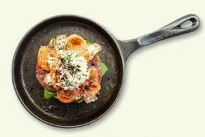 Завтраки дома: Бейгл с лососем иартишоками ибрускетта изресторана «Уголёк»