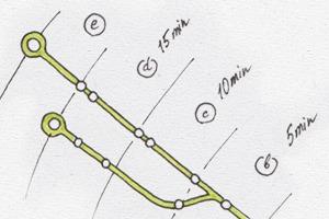 Идеи для города: Карта метро Бостона с временными отрезками
