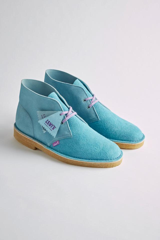 Замшевые ботинки сцветными шнурками отLevi's