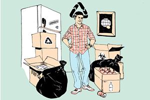 Личный опыт: Как сортировать мусордома?