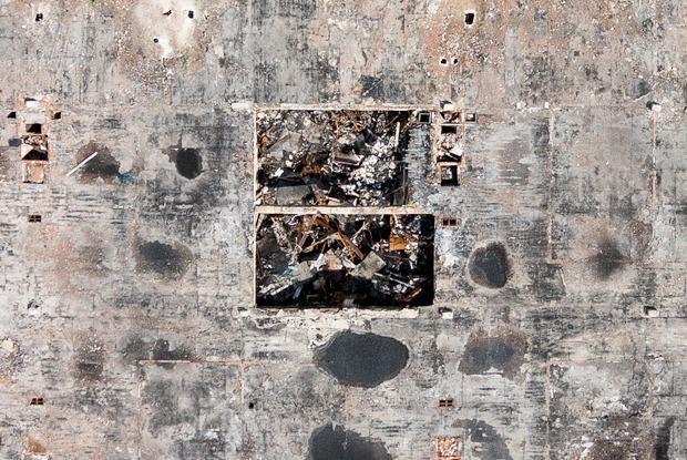ИНИОН РАН —спустя полгода после пожара