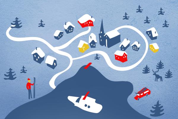 Где кататься на лыжах, сноуборде и сноукайте