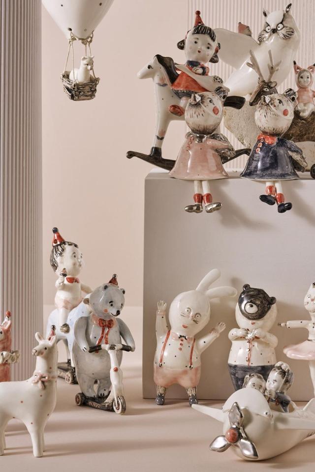 Новогодний онлайн-маркет Seasons селочными игрушками икерамикой