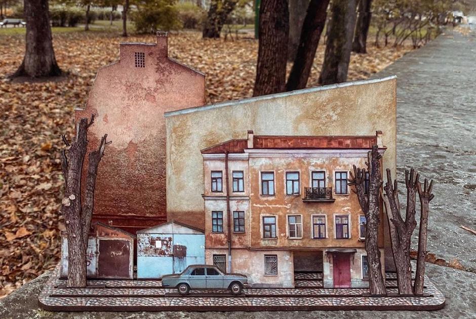 «Тот самый Петербург»: Сувенирные конструкторы про непарадный город