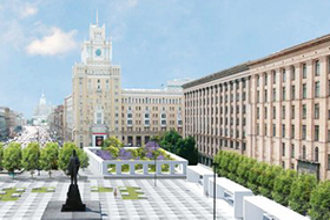 Как будет выглядеть Триумфальнаяплощадь: Три концепции финалистов