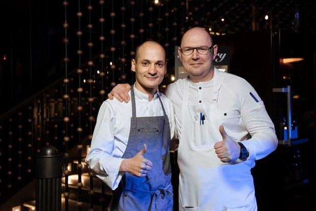 Гастрономический ужин Андрея Матюхи и Айдара Бакирова в Сочи