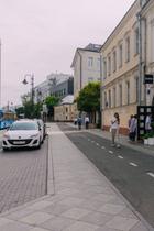 НаПятницкой улице иКадашевской набережной появятся зоны отдыха вместо парковок