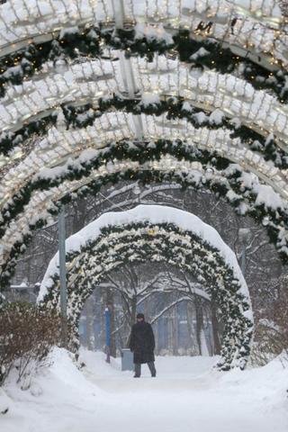 Москвичей ждут морозы инебольшая метель. После снегопада мынебоимся!