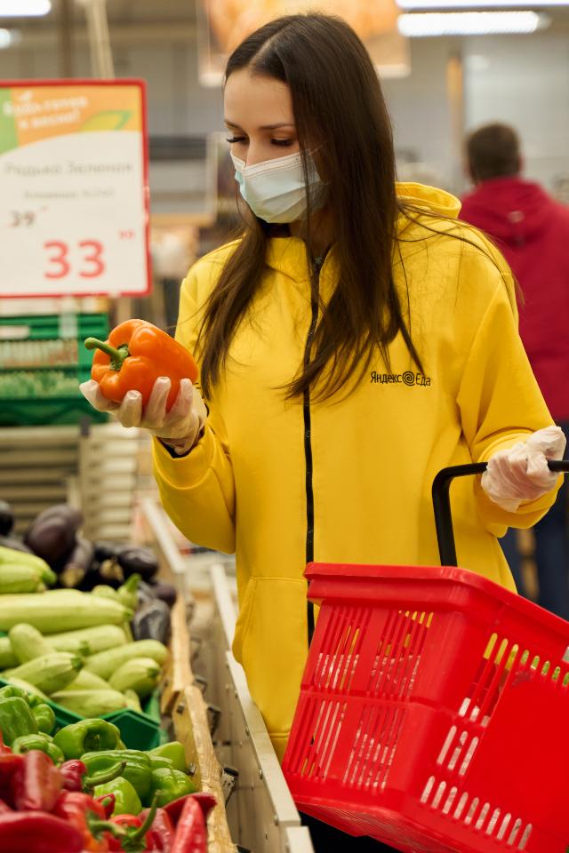 Сервис «Яндекс.Еда» начал доставлять товары из «Ашана»