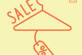 Инфографика: как падает цена толстовки во время распродаж