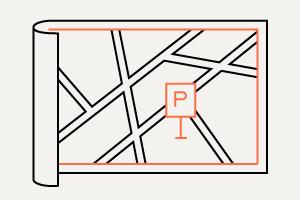 Карта платной парковки вМоскве