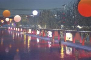 В парке Горького начали строить самый большой каток в Москве