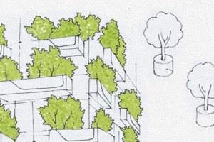 Идеи для города: Вертикальный лес вцентре Милана