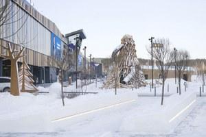 «Зарядье» в Екатеринбурге: Как выглядит новая детская площадка у «Меги»