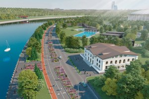 Как реконструируют парк «Лужники» кЧМ-2018