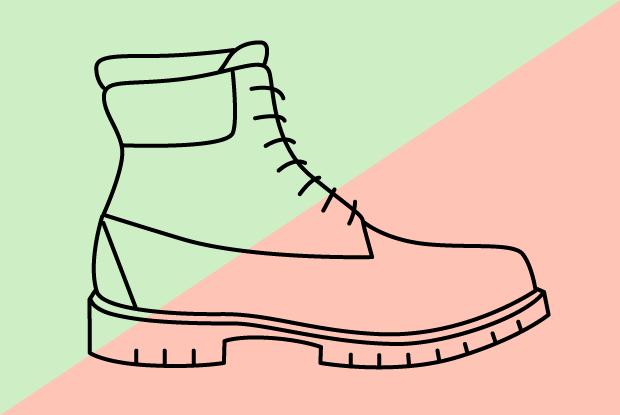 Самая дорогая исамая дешёвая пара ботинок Timberland