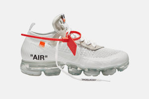 Off-White x Nike Air VaporMax Flyknit Total White
