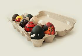 Благотворительный арт-проект: десяток яиц от молодых нижегородских художников