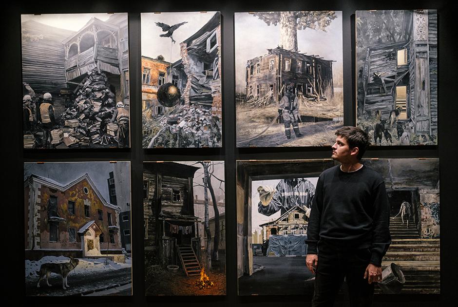Андрей Оленев — о выставке «Смена декораций» и о своих художественных ориентирах