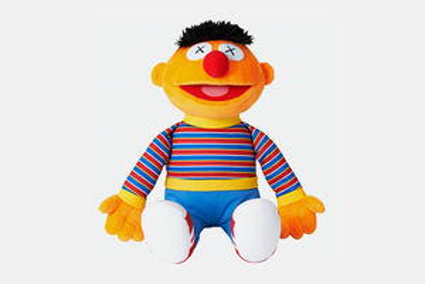 Куклы Влас иЕник вколлекции Uniqlo Kawsx Sesame Street UT