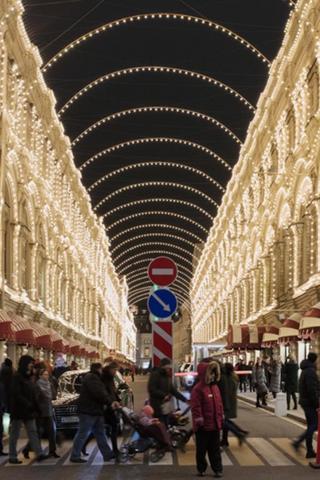 Москву кНовому году украсят старой подсветкой