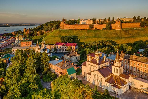 Маршруты по Нижнему Новгороду / Nizhny Novgorod Routes — Маршруты по Нижнему на The Village
