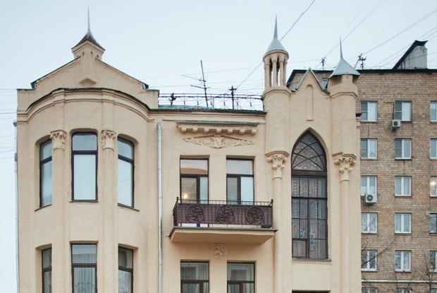 «Я живу в готическом особняке на Бауманской»