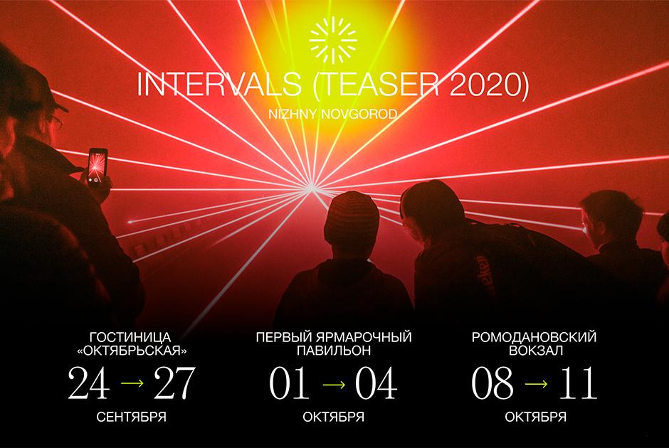 Фестиваль INTERVALS TEASER 2020: как и где это будет