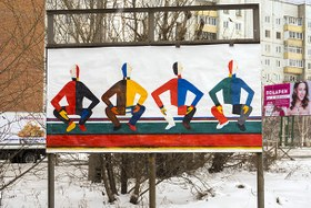 Мультики на дверях подъездов: Стрит-арт в Братске